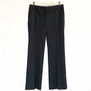 J. Crew Navy Pinstripe Lined City Fit Trousers 4